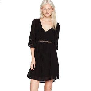 O'Neill Jessika Woven Dress w/ Inset Lace Trim